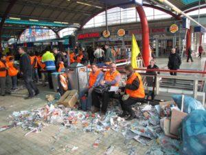 FNV: NS breekt staking schoonmakers