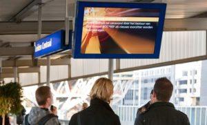 RailTV van start: TV kijken op stations