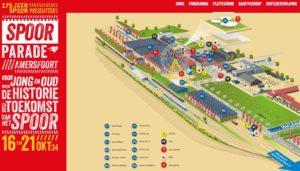 Kaartverkoop Spoorparade 175 jaar spoor start
