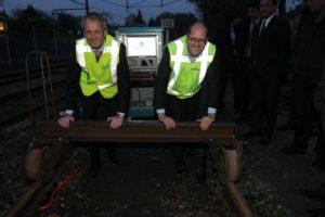 ProRail schenkt detectiesysteem Gotcha aan Het Spoorwegmuseum
