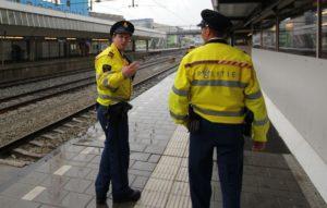 Agressie in trein en station dit jaar gedaald