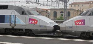 InterRail en TGV: toeslagen en reserveringen
