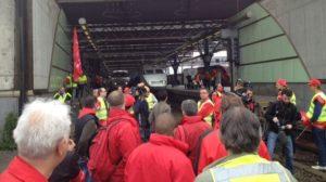 Staking België: TGV en Thalys gestremd. Overig treinverkeer redelijk normaal