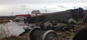 Ontspoorde TGV reed 265 en geen 176