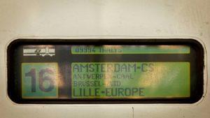 Thalys Amsterdam – Lille (Rijssel)