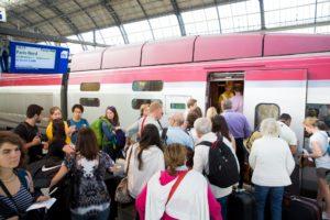 Meer bewaking bij internationale treinen
