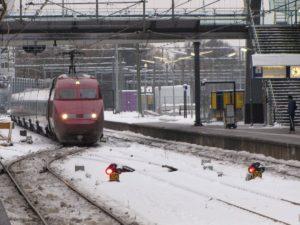 Thalys reed langzamer door sneeuw dan Fyra