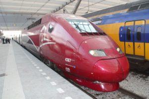 Thalys: 11% meer omzet en 7,5% meer reizigers