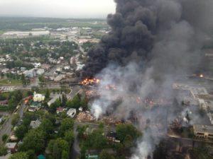 Spoorbedrijf treinbrand Canada failliet