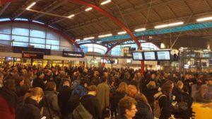 Treinverkeer rondom Utrecht en Gouda plat