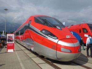 AnsaldoBreda en Bombardier presenteren supersnelle trein