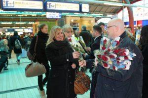 ProRail stuurt valentijnskaart aan NS