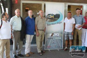 4000 handtekeningen voor treinverbinding Weert-België
