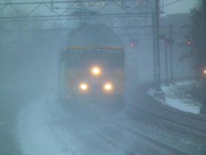 NS laat sneller lege treinen rijden bij ijzel