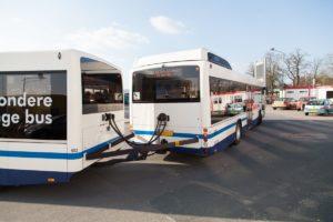 Bus met aanhanger wordt binnenkort toegelaten