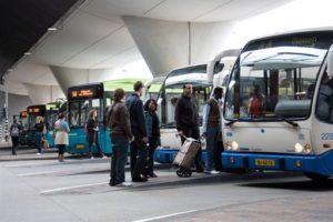 Minder OV-bussen in Nederland