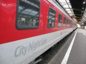 City Night Line Amsterdam – Praag