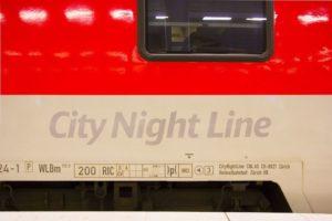 Dienstregeling nachttrein Amsterdam – Innsbruck (via München)