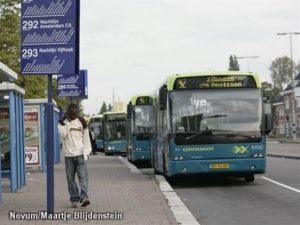 Buschauffeurs Connexxion Almere leggen werk uur neer