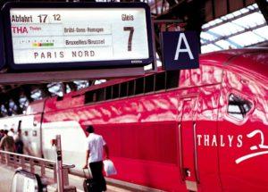 Thalys niet blij met staking