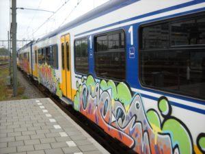 CDA wil minder graffiti bij stations