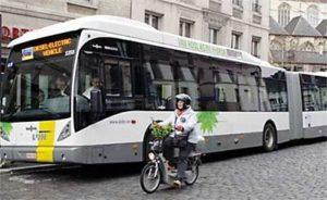 Eerste hybride bus voor Brugge