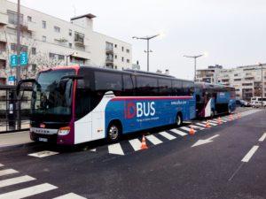 DB start bus Düsseldorf – Eindhoven – Antwerpen