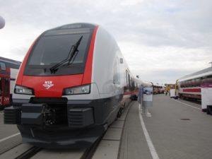 Stadler presenteert intercity FLIRT voor Noorwegen