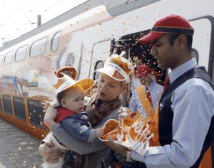 Aangepaste NS dienstregeling op Koninginnedag