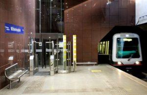 Bom in metro Rome