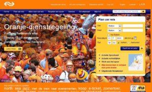 Geen extra treinen rond Amsterdam bij halve finale