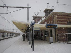 Winterweer: aanpassing dienstregeling NS dinsdag 15 januari