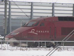 Thalys rijdt niet door sneeuw
