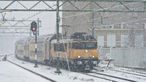 NS past dienstregeling opnieuw aan vanwege nieuwe sneeuw – zondag 20 januari