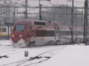 Winterweer: hogesnelheidstreinen sneller defect