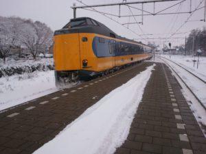 NS: 20% minder treinen vanwege sneeuw (22 januari)
