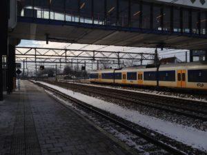 Treinverkeer NS 7 december aangepast door sneeuwval
