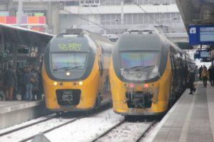 Winterweer legt treinverkeer op diverse trajecten stil