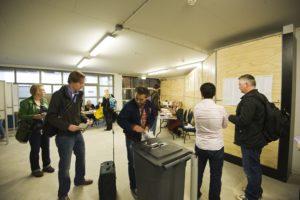 Stemmen op stations opnieuw populair
