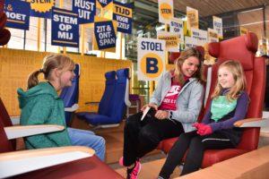 7000 reizigers testen nieuwe Sprinter stoelen