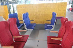 Treinreizigers kunnen stoelen testen voor nieuwe Sprinters
