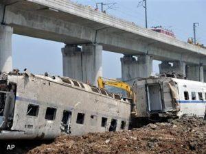 Zorgen om veiligheid Chineese hogesnelheidstrein