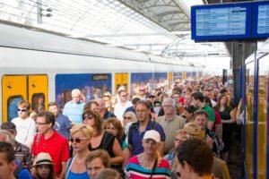 Fors minder klachten over volle treinen