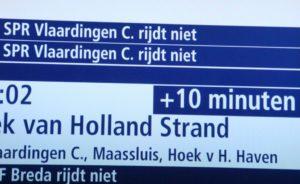 ProRail: Zeker tot vrijdag minder treinen rond Rotterdam en Den Haag