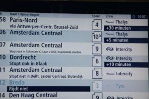Meer reizigers vertraagd door nieuwe dienstregeling
