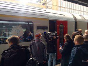 Belgische spoorwegen doen proef met wifi
