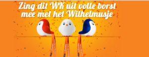 Treinreizigers kunnen met marketingactie Wilhelmus leren
