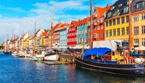 Trein naar Kopenhagen