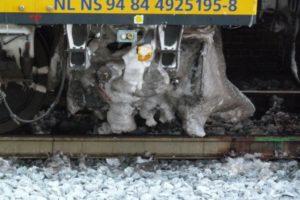 Minder treinen met anti-icing