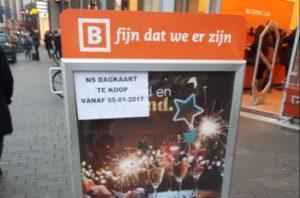 Blokker treinkaartje: NS Dagkaart Dal (januari 2017)